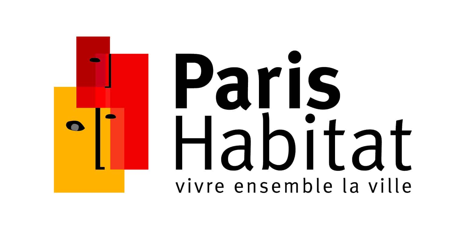 Logo Paris Habitant long